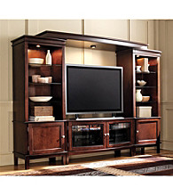APA Excalibur Wall Unit Entertainment Center