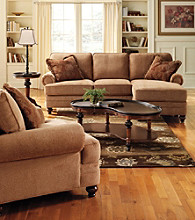 HM Richards Madison Tan Sofa Chaise Collection