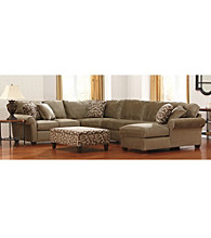 Bauhaus Porto Granite Chenille 4-pc. Sectional Set