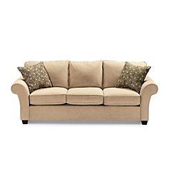 Bauhaus Mineral Tan Microfiber Sofa