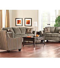 Broyhill® Maddie Gray Chenille Living Room Collection