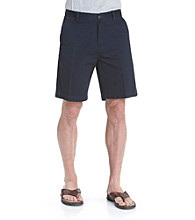 Nautica® Men's Flat-Front Khaki Shorts - True Navy