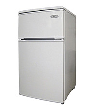 Sunpentown® 3.2-cu.ft. Double Door Refrigerator - White