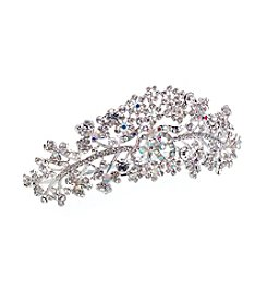 Lillian Rose® Silver-Plated Comb Tiara