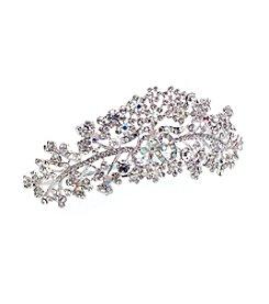 Lillian Rose® Silver-Plated Comb Tiara