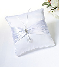 Lillian Rose® Rhinestone Ring Bearer Pillow