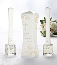 Lillian Rose® Christian Unity Candle Set