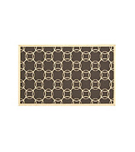 Bacova® Elegant Dimensions Interlocking Circles Accent Rug