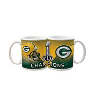 Memory Company Green Bay Packers® Big Game Champions Small White Mug