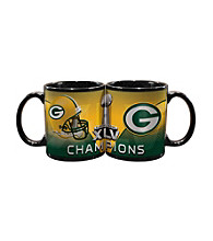Memory Company Green Bay Packers® Big Game Champions Small Black Mug