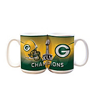 Memory Company Green Bay Packers® Big Game Champions Large White Mug