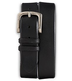 Harbor Bay® Men's Big & Tall Jeans Leather Belt