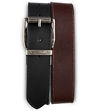 Harbor Bay® Men's Big & Tall Reversible Leather Jeans Belt - Black/Brown