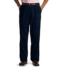Dockers® Men's Big & Tall No Wrinkle Pleated Twill Pants