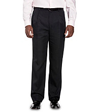 Synrgy™ Men's Big & Tall Concealed Comfort Microfiber Pleated Pants