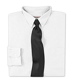 Gold Series™ Men's Big & Tall Neck-Relaxer® Oxford Dress Shirt