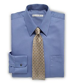 Geoffrey Beene® Men's Big & Tall Solid Sateen Dress Shirt - Pacifico