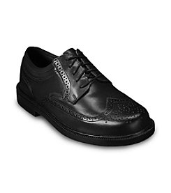 Deer Stags® Men's Big & Tall Tribune Classic Wingtip Oxfords - Black