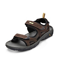 Teva® Men's Big & Tall Katavi Suede Sport Sandal - Brown