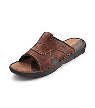 Hush Puppies® Men's Big & Tall Driftline Slides - Brown