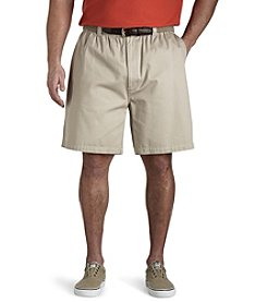 Canyon Ridge® Men's Big & Tall Elastic-Waist Twill Shorts