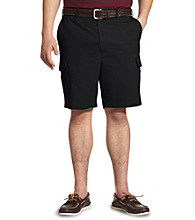 Harbor Bay® Men's Big & Tall Continuous Comfort™ Twill Cargo Shorts