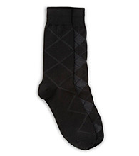 Harbor Bay® Men's Big & Tall 2-pk Argyle Socks