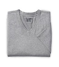 Harbor Bay® Men's Big & Tall 2-pk V-Neck Color T-Shirts