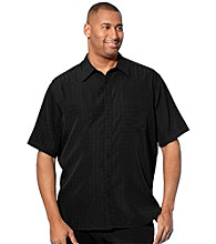 Canyon Ridge® Men's Big & Tall Microfiber Camp Shirt