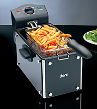 Deni 3-qt. Glass Deep Fryer
