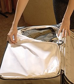 SecureTravel Anti-Bed Bug Small Suitcase Liner