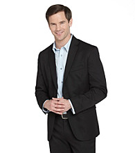 Calvin Klein Men's Wool Sports Jacket - Black