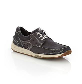 "Clarks® Men's ""Saranac"" Lace-up Boat Shoe"