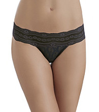 b.tempt'd® by Wacoal® Lace Kiss Thong - Night