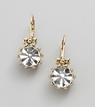 Betsey Johnson® Crystal Drop Earrings