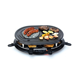 Koolatron™ Raclette Party Grill with Fondue Set