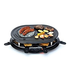 Koolatron™ Raclette Party Grill with Fondue Set