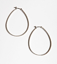 Lucky Brand® Oblong Hoop Earrings