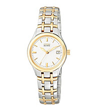Citizen® Ladies' Two Tone Stainless Steel Watch