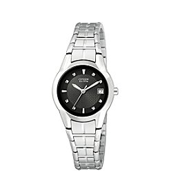Citizen® Ladies' Eco-Drive Stainless Steel Bracelet Watch