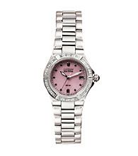 Citizen® Ladies' Diamond Accented Stainless Steel Watch
