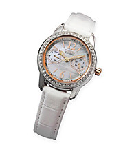 Citizen® Ladies' Mother of Pearl and Diamond Accented Watch