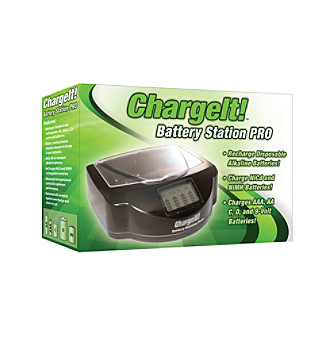 PC Treasures ChargeIt!™ Battery Station PRO Battery Charger