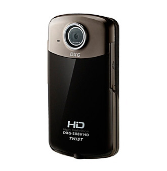 "DXG ""The Twist"" 1080p HD Digital Camcorder"