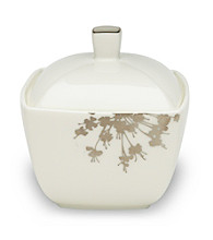 Mikasa® Floral Silhouette Covered Sugar Bowl