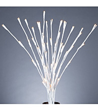 Gerson LED-Lit White Willow Branches