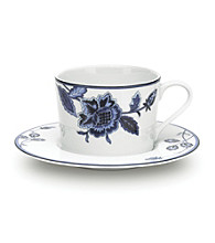 Mikasa® Indigo Bloom Teacup and Saucer