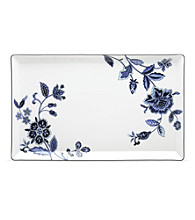 Mikasa® Indigo Bloom Rectangular Platter