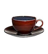 Mikasa® Sedona Brown Teacup and Saucer