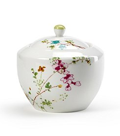 Mikasa® Sketch Floral Covered Sugar Bowl